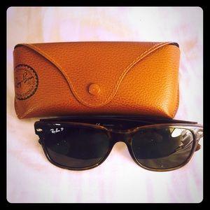 Tortoise Ray-Ban Wayfarer sunglasses